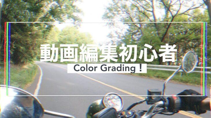 動画編集初心者がGo Proで撮影した動画のカラーグレーディングに挑戦してみた。
